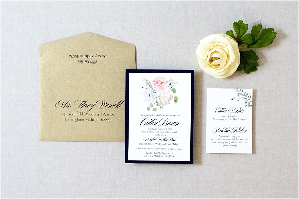 Wedding Shower Invitation Sayings: Gourmet Invitations