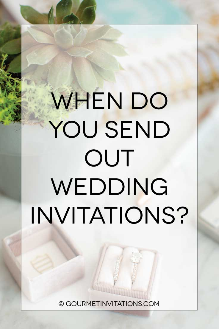 When To Send Out Wedding Invitations Gourmet Monicamarmolfo Gallery