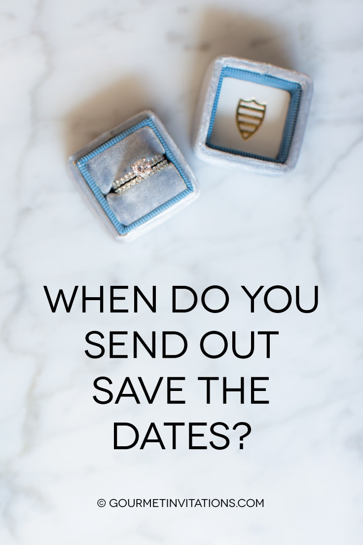 when do you send out save the dates