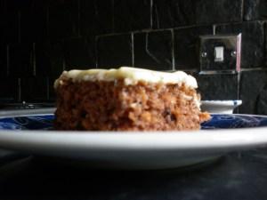 "Tarta de zanahoria y nueces ""carrot cake"""