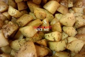 patatas gajo con hierbas