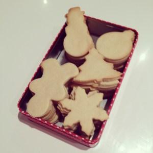 receta casera de galletas navideñas