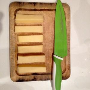 como hacer brochetas de queso