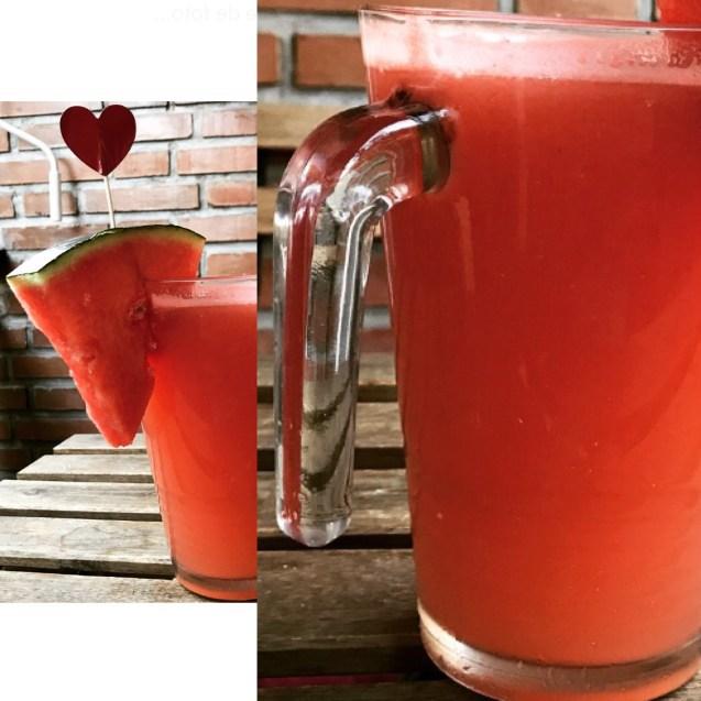 agua de sandia receta casera