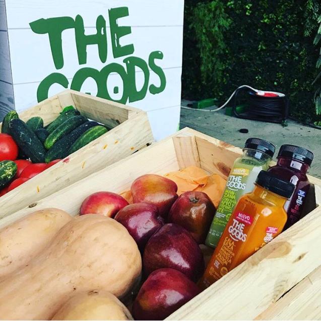 Presentación de los smoothies vegetales The Goods
