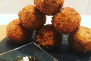 receta croquetas de calabaza japonesas