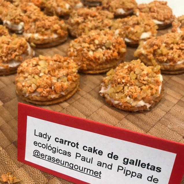 carrot cake de galletas receta express