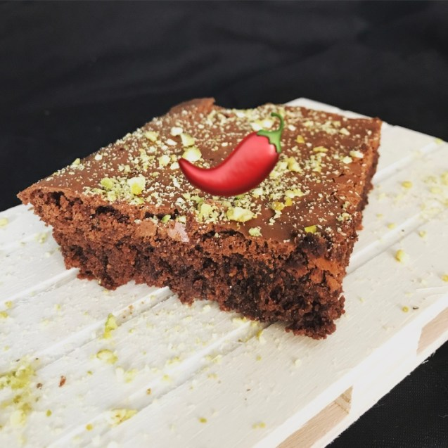brownie picante chile receta