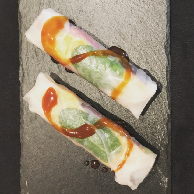 rollitos vietnamitas frios receta