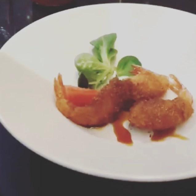 langostinos tempura coco