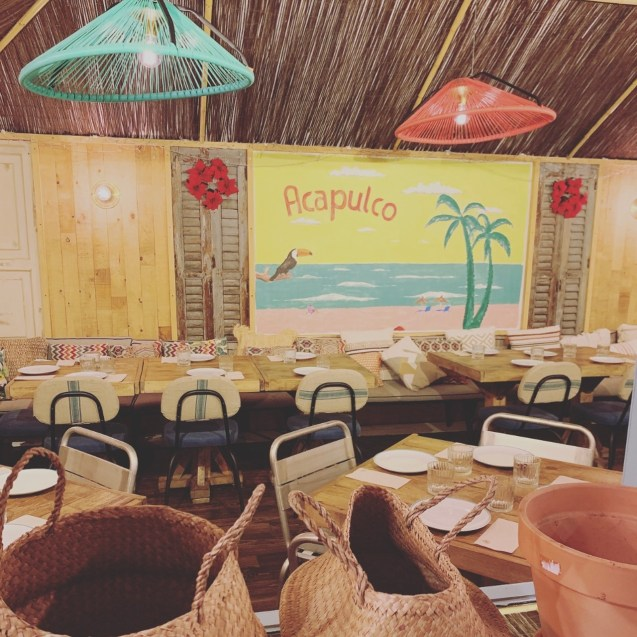 interior restaurante La Chingona Argensola