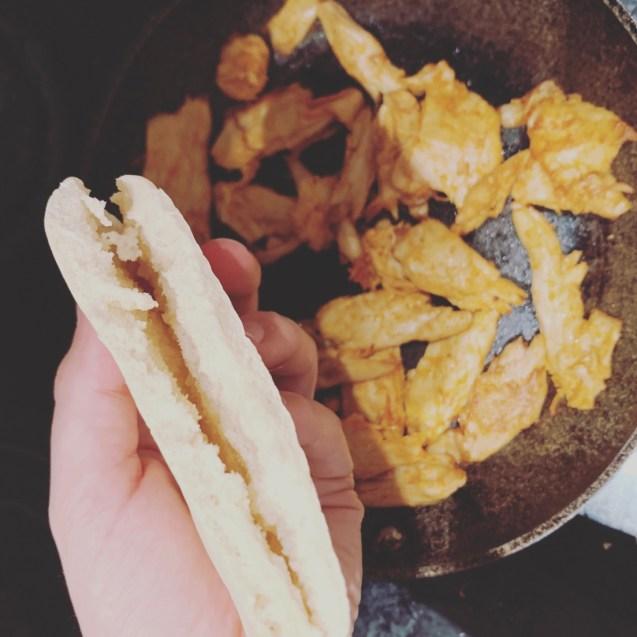 receta vegana kebab heura