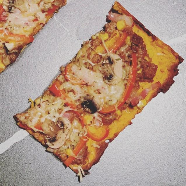 pizza masa batata receta