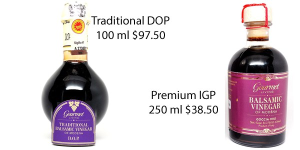 DOP and IGP Balsamic Vinegar