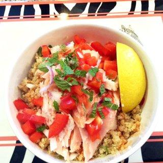 Salmon and Quinoa Bowl Recipe