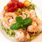 shrimp and zucchini noodles