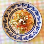Greek Slaw with Olives and Feta Cheese