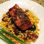 Seared Salmon with Summer Vegetables from Food and Wine