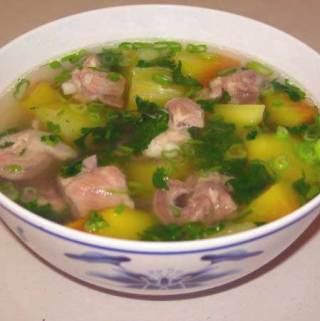 Canh or Vietnamese Meatball