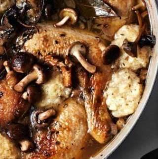 Chicken & Dumplings from Bon Appetit
