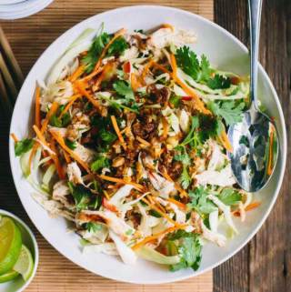 Vietnamese Chicken Cabbage Salad