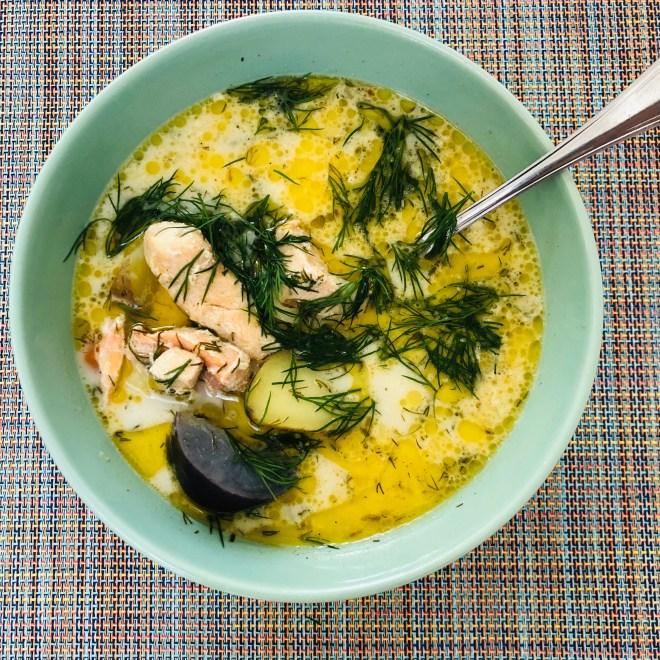 Lohikeitto, Creamy Salmon Soup
