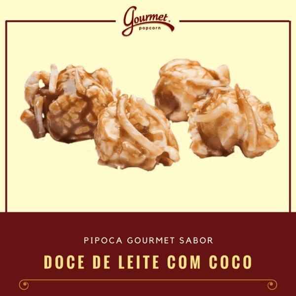 Comprar Pipoca Gourmet sabor Doce de leite com Coco