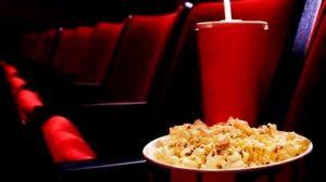 pipoca gourmet no cinema