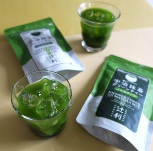 京都 宇治の老舗<辻利> 2種類の宇治抹茶グリーン ティー新発売