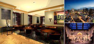 夜景の映える大人のパーティースペースへと進化しました レストラン&スカイバンケットをリニューアル 25階レストラン&スカイバンケット「ソラメンテ」 2018年7月3日(火)完成