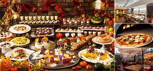 かぼちゃ、栗など秋の味覚×ハロウィンデザートが登場 9・10月限定開催 「ハロウィンドルチェビュッフェ」 窯から焼きたてのデザートピッツァなど約30種が食べ放題 9月2日(日)より
