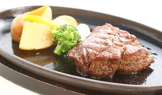 牛リブロースのステーキ1皿(150g)