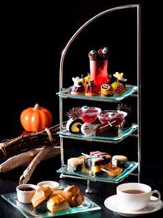 <ハロウィン限定>見て楽しい、食べて美味しい  ハロウィン気分を盛り上げるアフタヌーンティーを 9月3日提供開始