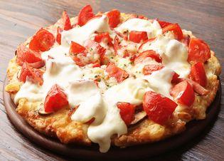 「激盛りトマチーピザ」販売休止のお知らせ