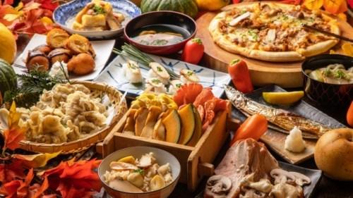 【食べ放題!】新鮮変り種野菜&松茸たっぷりの創作料理&秋スイーツ…実りの秋を味わい尽くす「松茸と秋の味覚フェア」開催!