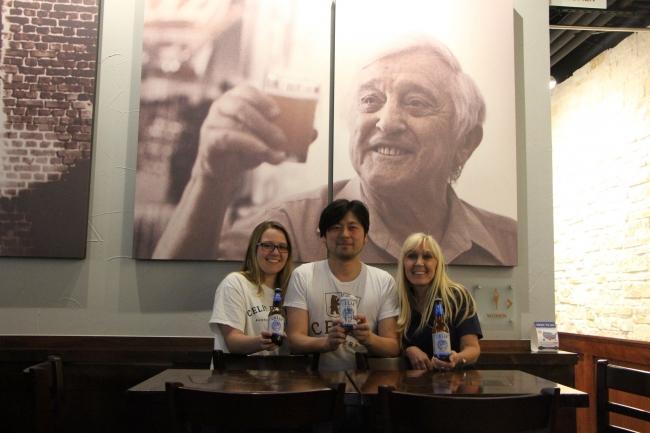 ヒューガルデン・ホワイトの生みの親、故ピエール・セリス氏の「セリス醸造所」を再興したセリス一家が来日。イベントおよびリオ・ブルーイング・コー東京醸造所にてコラボレーションビールを醸造!
