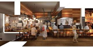 野毛で注目を集めている「串焼き。ビストロガブリ」の3号店が、食堂酒場ハル☆チカで賑わう小田急ハルクにニューオープン!!