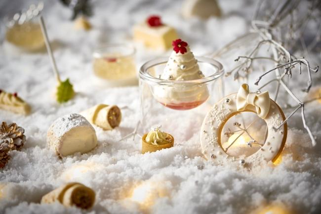 【ホテルメトロポリタン】『ホワイトクリスマス アフタヌーンティー』