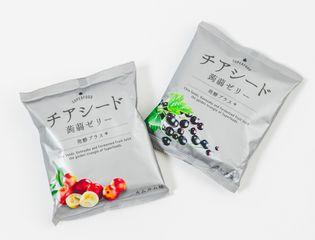 ギルトフリースナック『チアシード蒟蒻ゼリー 発酵プラス』 10月26日ビープル バイ コスメキッチンで販売開始!