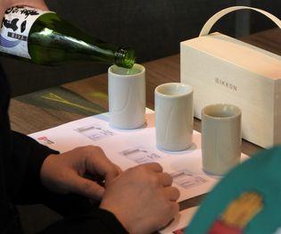 新宿伊勢丹にて日本酒イベント「IKKON BAR」を開催! 伝統技術を活かした酒器「IKKON」x酒xおつまみで 究極のペアリングを堪能