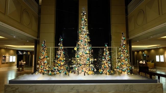 ロビークリスマスツリー装飾イメージ