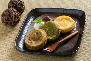 松江の「ぼてぼて茶」をイメージした『ふれん茶とーすと』登場  抹茶・ほうじ茶・米粉プレーンを自家製食パンで焼き上げ