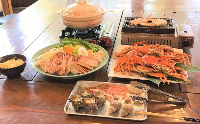 丹後王国「食のみやこ」 「焼き蟹」や「蟹鍋」を提供 『かに小屋』11/23より期間限定オープン