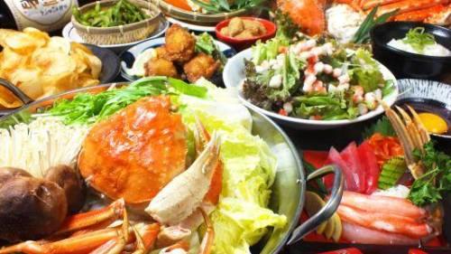 """""""上質な蟹を気軽にたのしもう""""関東初出店、新宿三丁目に【大衆かに酒場 かにさか】グランドオープン""""  ~刺身、焼き、しゃぶしゃぶ!旬の食材をたっぷり味わえる!~"""