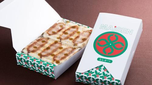 とんかつ「まい泉」、クリスマス限定パッケージの「ヒレかつサンド」「ミニバーガー」を12月17日(月)発売