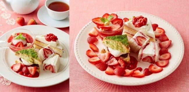 【Afternoon Tea】いちごスイーツが勢揃いする『STRAWBERRY FUN DAYS!』いちごの日「苺3倍DAY」や、店舗限定のスイーツオーダービュッフェも開催!