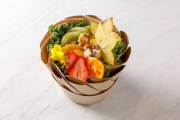 ハーブとフルーツを使ったお洒落でおいしい美活サラダボウル 「BIKATSU SALAD キッシュ・ロレーヌ」1月30日(水)より販売