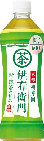 サントリー緑茶「伊右衛門」リニューアル