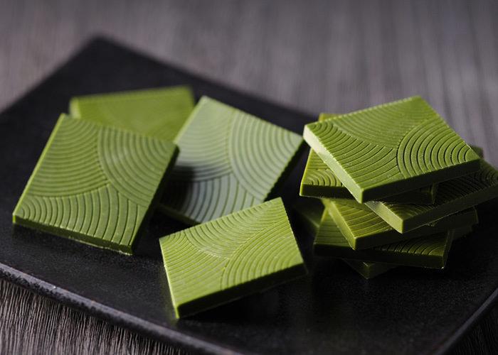 お茶屋厳選の国産抹茶を贅沢に配合した 本格抹茶チョコレート『濃厚抹茶キャレ』を冬季限定で販売!