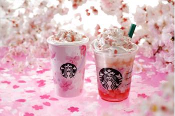 スターバックスから、満開の桜を表現した『さくらフル ミルク ラテ』、『さくらフル フラペチーノ(R)』に、うつりゆく美しい桜の装いをデザインしたタンブラーやマグカップなど、SAKURAシリーズが2月15日から新登場